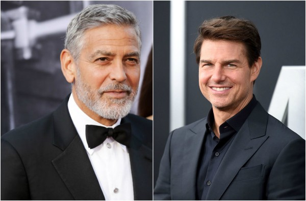 George Clooney e Tom Cruise  (Foto: Getty Images)
