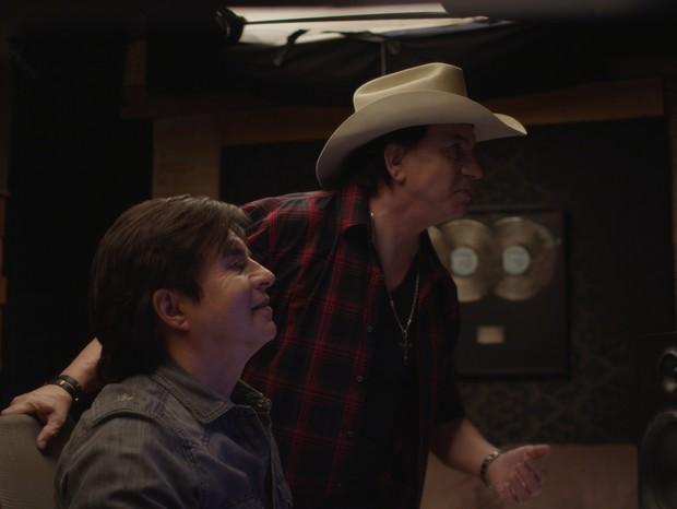 Chitãozinho e Xororó em Coração de Cowboy (Foto: Divulgação/Reprodução)