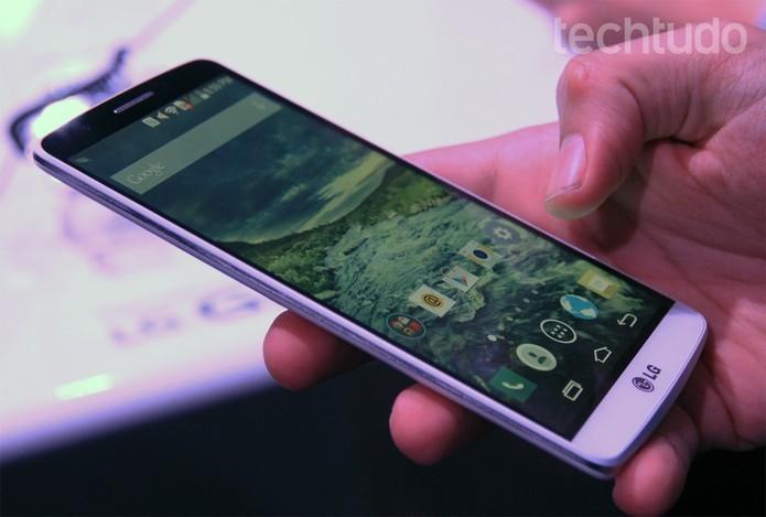 Com recentes notícias de falhas graves de segurança no Android, LG decide liberar atualizações de segurança mensais (Foto: Isadora Diaz/TechTudo)