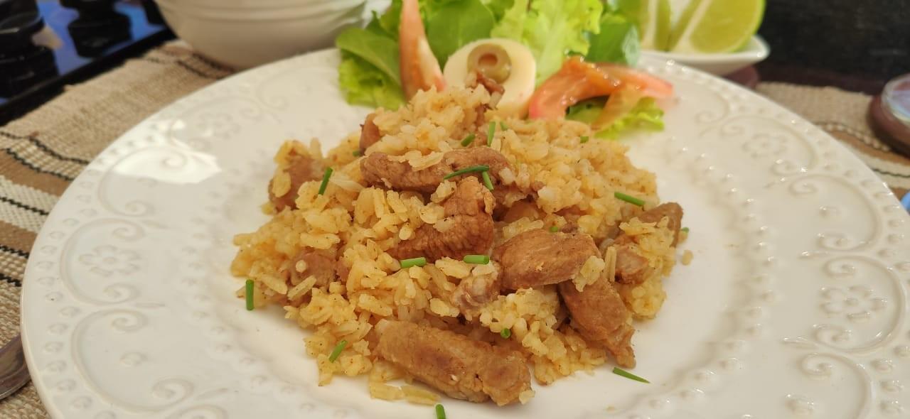 Sabor de Casa: veja receita de arroz com copa lombo da Juliane