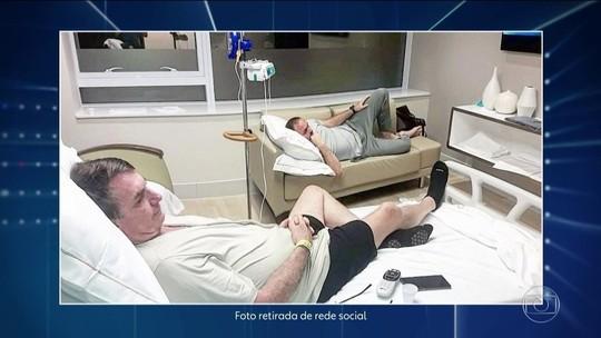 Bolsonaro melhora, e médico libera dieta cremosa