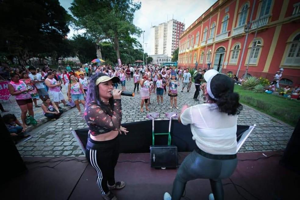 Evento tem o objetivo de mobilizar mulheres contra a violência doméstica — Foto: Divulgação