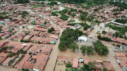 Chuva deixa cidades do Maranhão embaixo d'água e 13 decretam situação de emergência