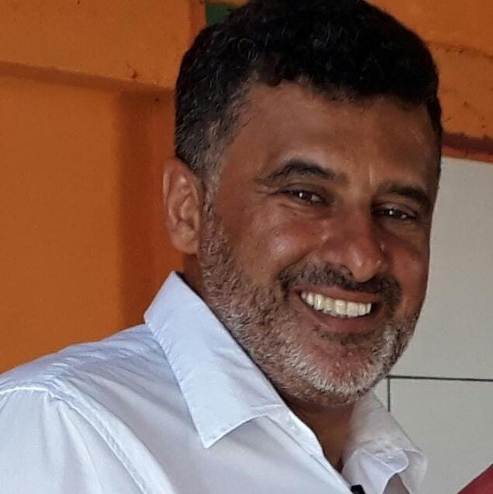 Geraldo Jamil Siman de Moreira, de 51 anos, foi morto ao sair de casa — Foto: Facebook/Reprodução