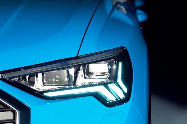 Teaser Novo Audi Q3 2019 (Foto: Reprodução/Youtube)