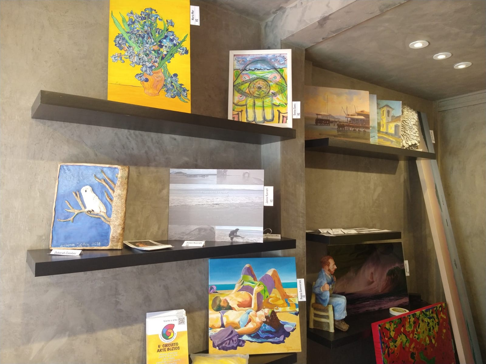 Fim de semana tem evento cultural 'Circuito Arte Búzios' com exposições e oficinas gratuitas