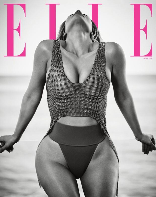 Kim Kardashian (Foto: Reprodução/Elle Magazine)