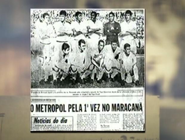 Metropol no SporTV Repórter (Foto: Reprodução/ SporTV)