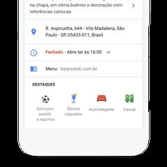 Google Copa do Mundo Local para assistir esporte maps (Foto: Divulgação/Google)