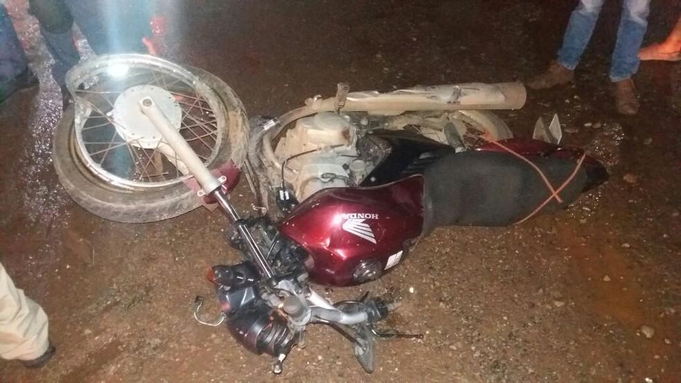 -  Acidente aconteceu no Km 2,1 próximo ao bairro Vila Maranhão na zona rural de São Luís  Foto: Divulgação/Polícia Rodoviária Federal