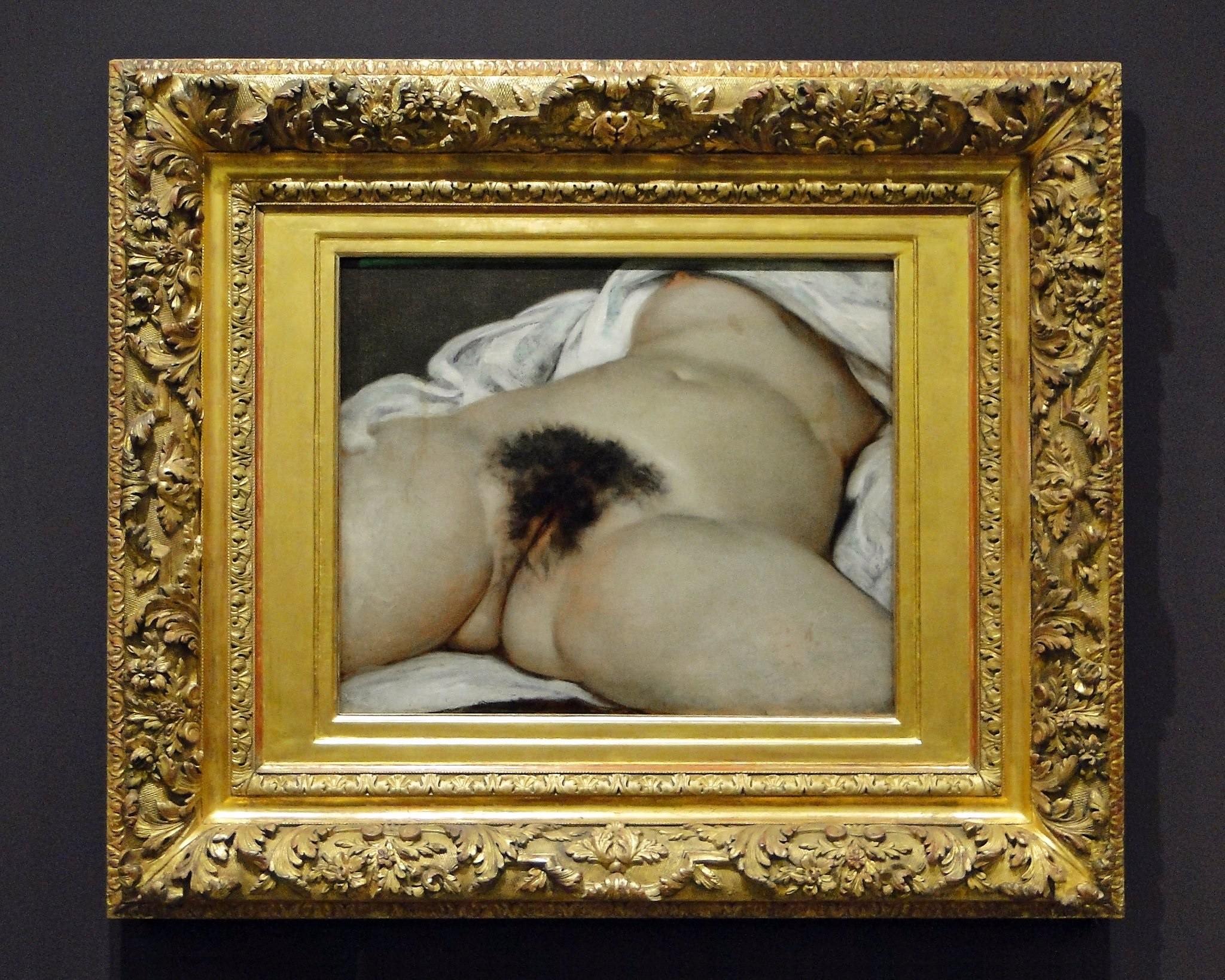 """""""L'Origine du monde"""" (a origem do mundo, 1866), de Gustave Courbet"""