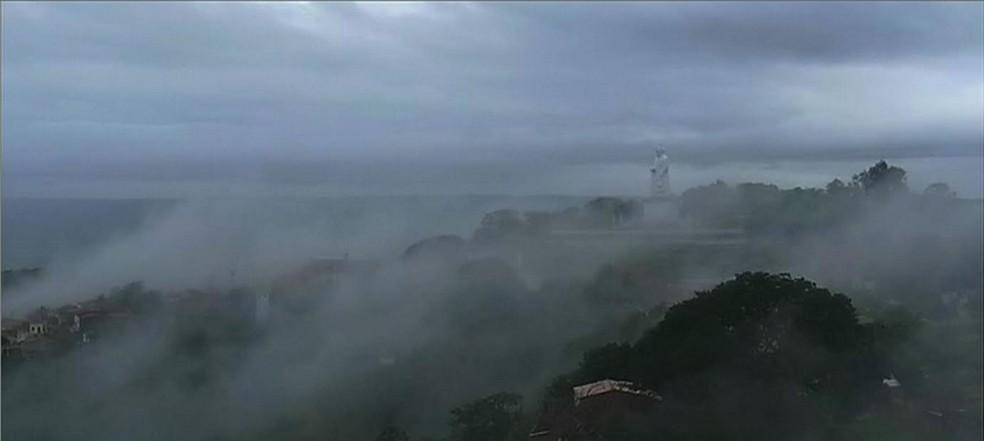 Na Região do Cariri, o mês de abril choveu 185,8 milímetros quando o esperado é 178,5. Um desvio positivo de 4,1%.  — Foto: TV Verdes Mares/Reprodução