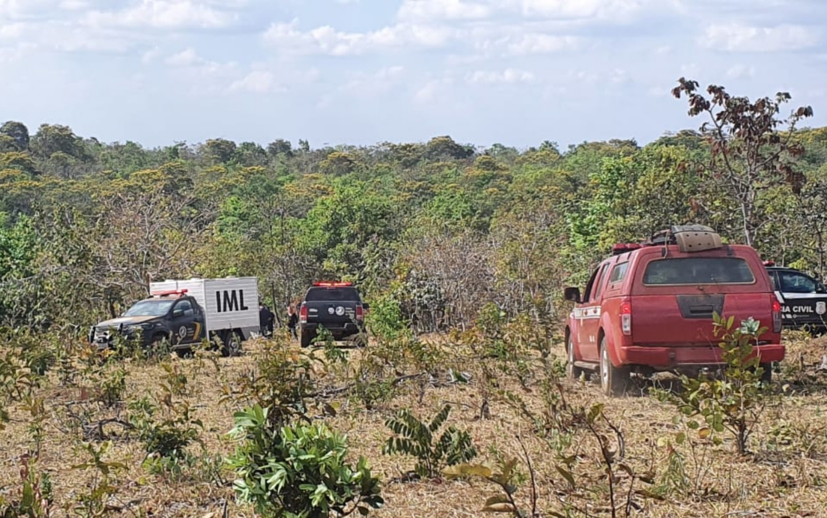 Homem é preso suspeito de matar pai a pauladas e jogar corpo em mata de Santo Antônio do Descoberto