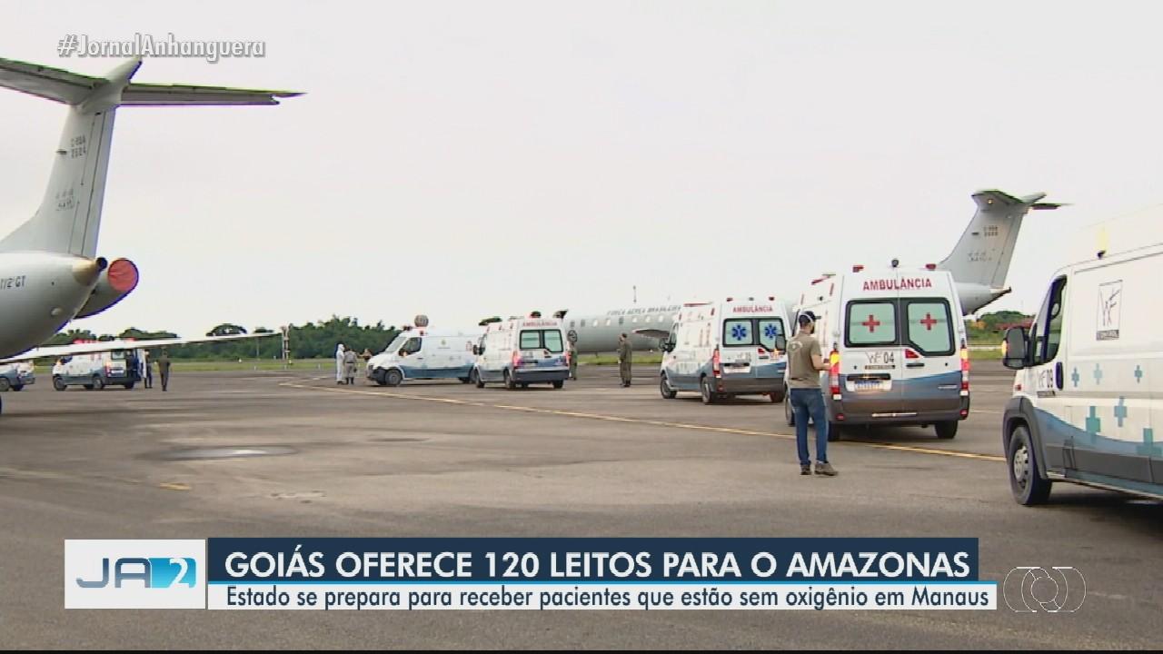 Goiás se prepara para receber pacientes de Manaus 'sem prejudicar a população goiana'