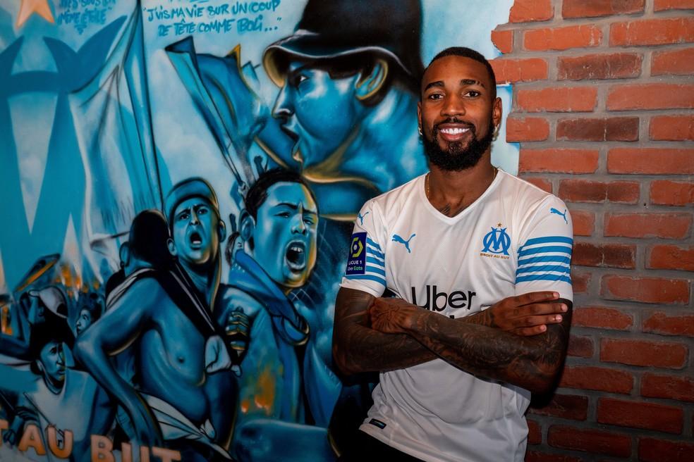 Gérson, com a camisa do Olympique de Marselha