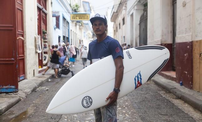 Surfe em Cuba