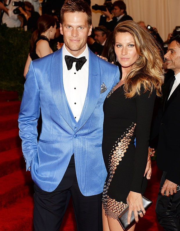 Tom Brady e Gisele Bündchen (Foto: Getty Images)
