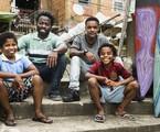 'Cidade dos homens': Laranjinha (Darlan Cunha), Acerola (Douglas Silvs), Davi (Luan Pessoa) e Clayton (Carlos Eduardo) | Globo/Mauricio Fidalgo