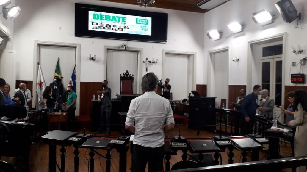Primeiro debate à Prefeitura de Juiz de Fora reúne dez candidatos