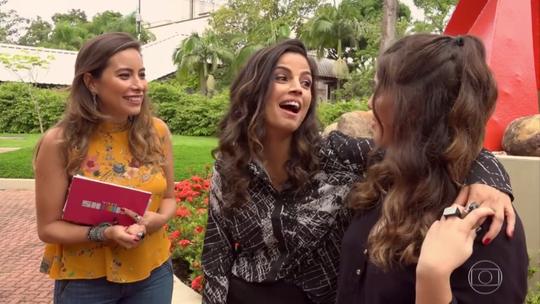 Emanuelle Araújo faz teste da amizade com a filha Bruna; assista!