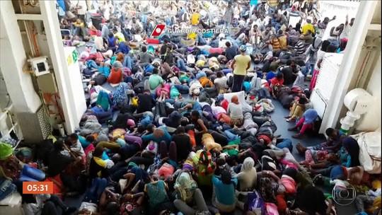 Governo italiano aprova decreto mais rigoroso contra imigrantes
