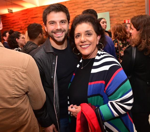 Duda e Leda Nagle (Foto: Leo Franco/AgNews)