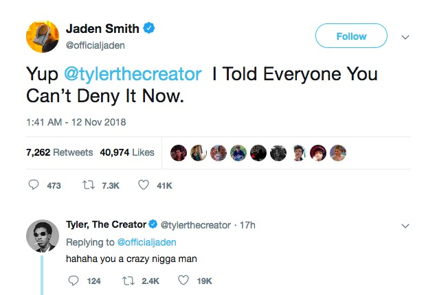 42b09dda0652ee Rapper Tyler The Creator reage à declaração de filho de Will Smith ...