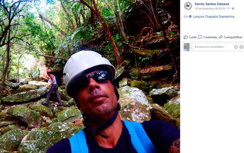 Danilo era professor de rappel, em Salvador (Foto: Reprodução / Facebook)