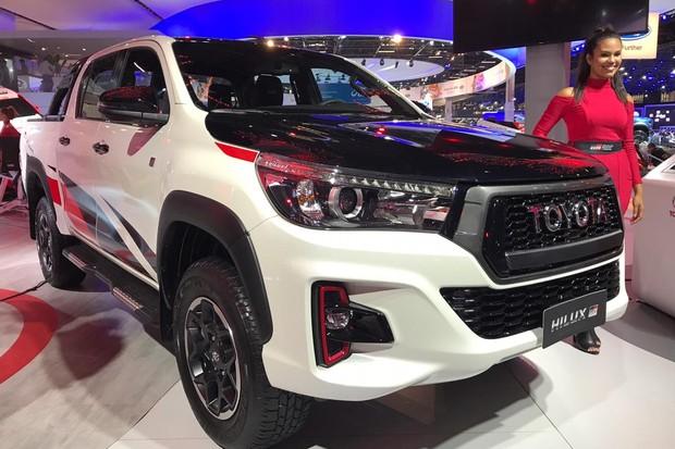 Toyota Hilux Gazoo estreia no início do ano que vem (Foto: Diogo de Oliveira/Autoesporte)