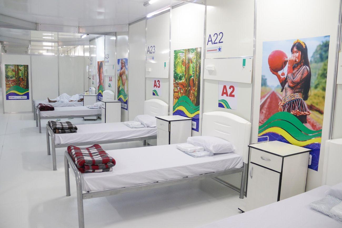 Com queda no número de internações, Hospital de Campanha de Marabá encerra as atividades