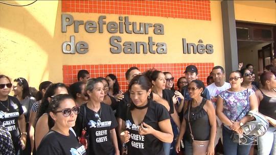 Greve dos professores de Santa Inês completa um mês