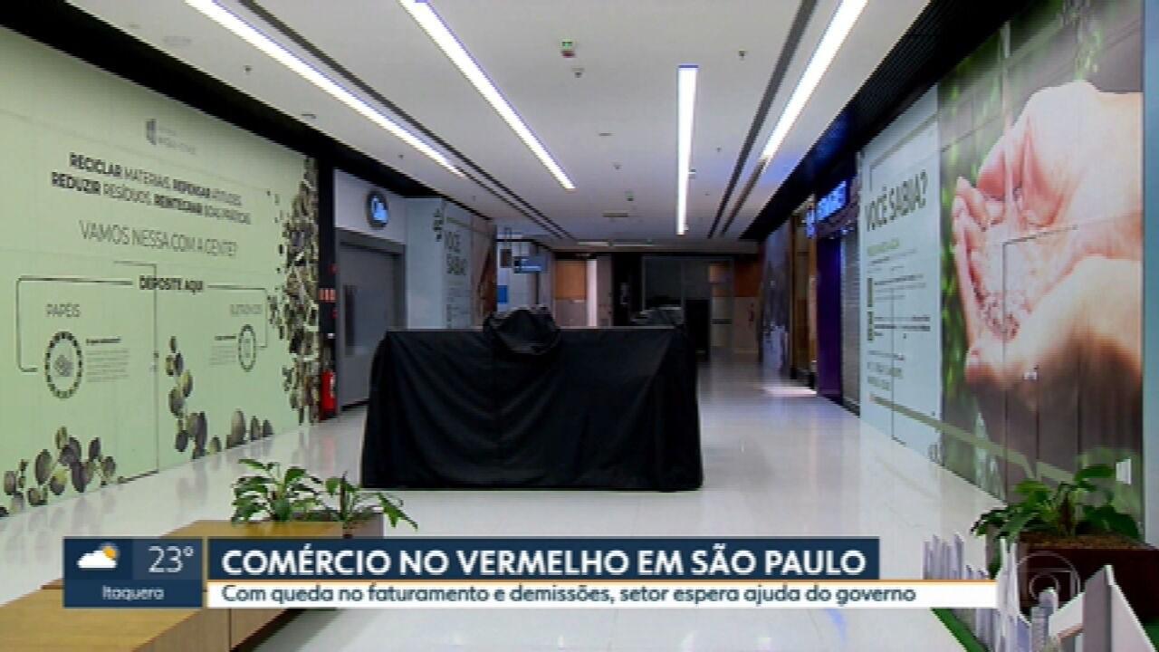 Shoppings do estado de São Paulo demitiram mais de 60 mil pessoas em abril