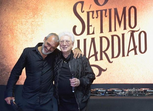Rogério Gomes e Aguinaldo Silva (Foto: Selmy Yassuda)