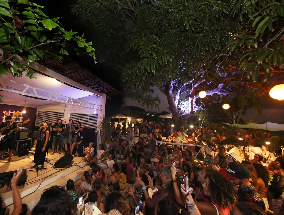 Fest Bossa e Jazz passou pela Praia de Pipa neste ano — Foto: Tom Costa