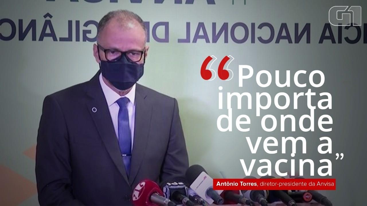 'A Anvisa não participa de nenhuma compra feita pelo governo federal', diz Antonio Barra
