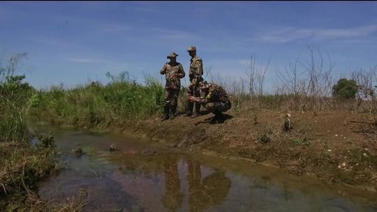 Turbilhão de lama ameaça rios em Mato Grosso do Sul