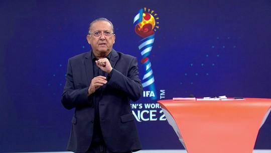 Galvão Bueno pede apoio ao futebol feminino e destaca recado de Marta