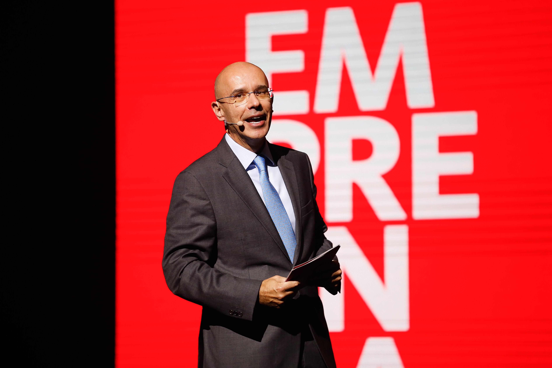 Presidente do Santander Brasil,  Sergio Rial (Foto: Divulgação)