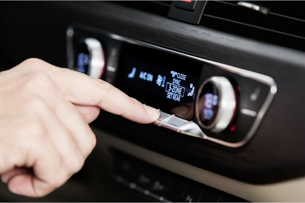Audi A4 ar-condicionado (Foto: Divulgação)