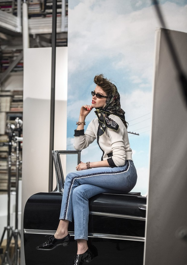 Making of: Chanel Eyewear (Foto: Divulgação/ Olivier Saillant)