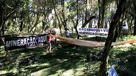 Exploração de minérios perto do Rio Camaquã provoca polêmica no RS