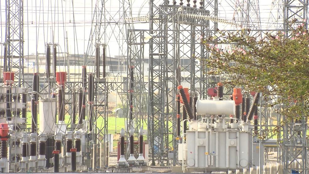 Falha em instalação elétrica causa apagão em Campina Grande e Região, na Paraíba — Foto: Reprodução/Tv Paraíba