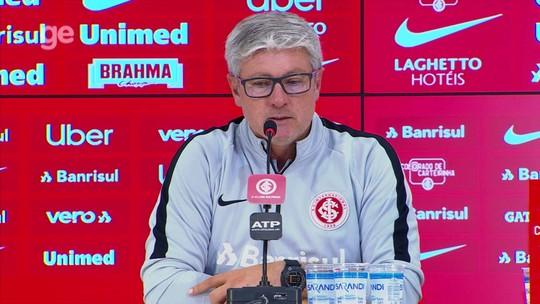 Odair diz que Grêmio precisa comemorar empate e deixa de lado bate-boca com Renato