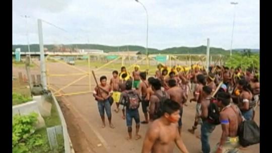 Índios bloqueiam entrada de mineradora no sudeste do Pará