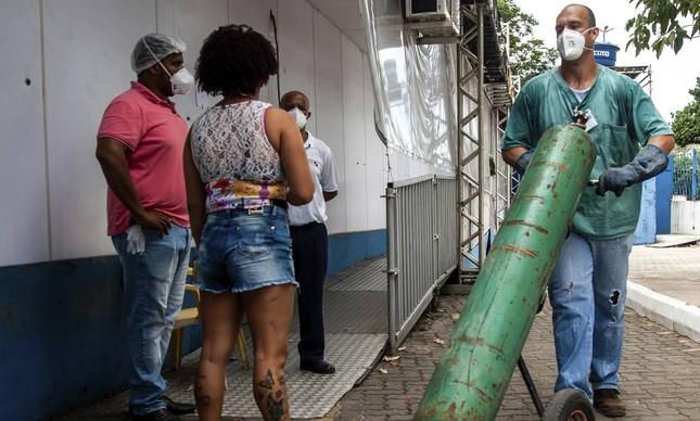 A falta de oxigênio em Manaus causou dezenas de mortes por asfixia em janeiro passado