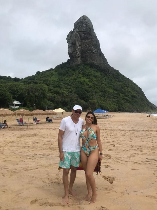 Frank Aguiar e Carol Santos (Foto: Arquivo pessoal)