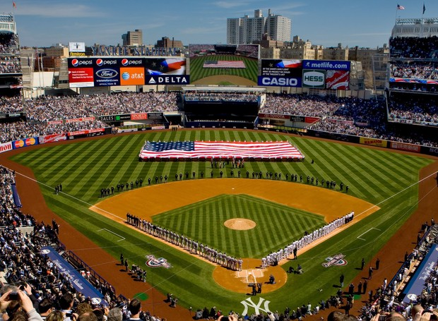 Você sabia que os jogos de beisebol têm longa duração? Mas os estádios oferecem infraestrutura e garantem a diversão do público (Foto: Divulgação)