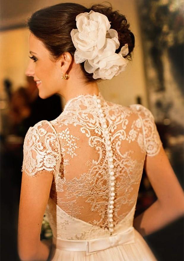 Vestidos de noiva com mangas (Foto: Reprodução / Pinterest)
