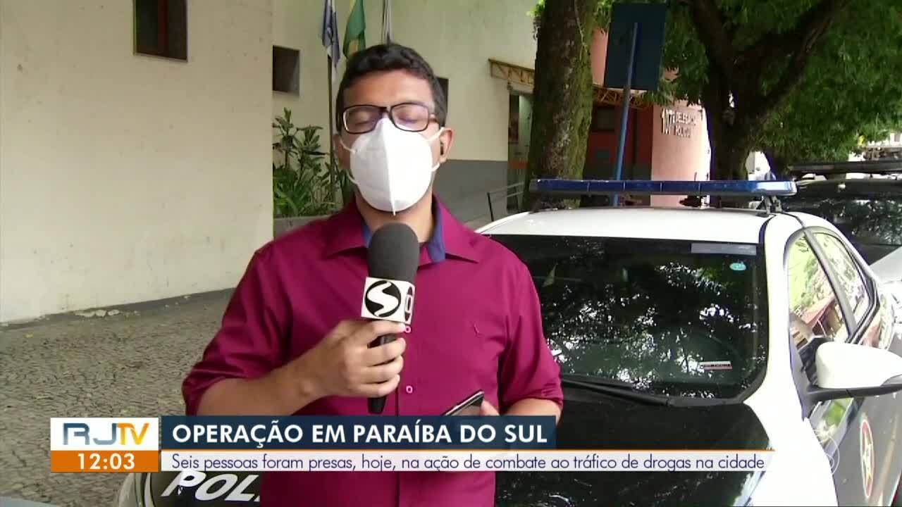 Seis pessoas são presas em operação da Polícia Civil em Paraíba do Sul