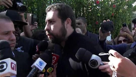 Guilherme Boulos presta solidariedade à família de Lula